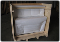 Custom crating for export