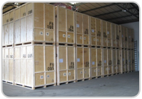 Containerised furniture storage