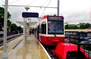 Trams in Beckenham