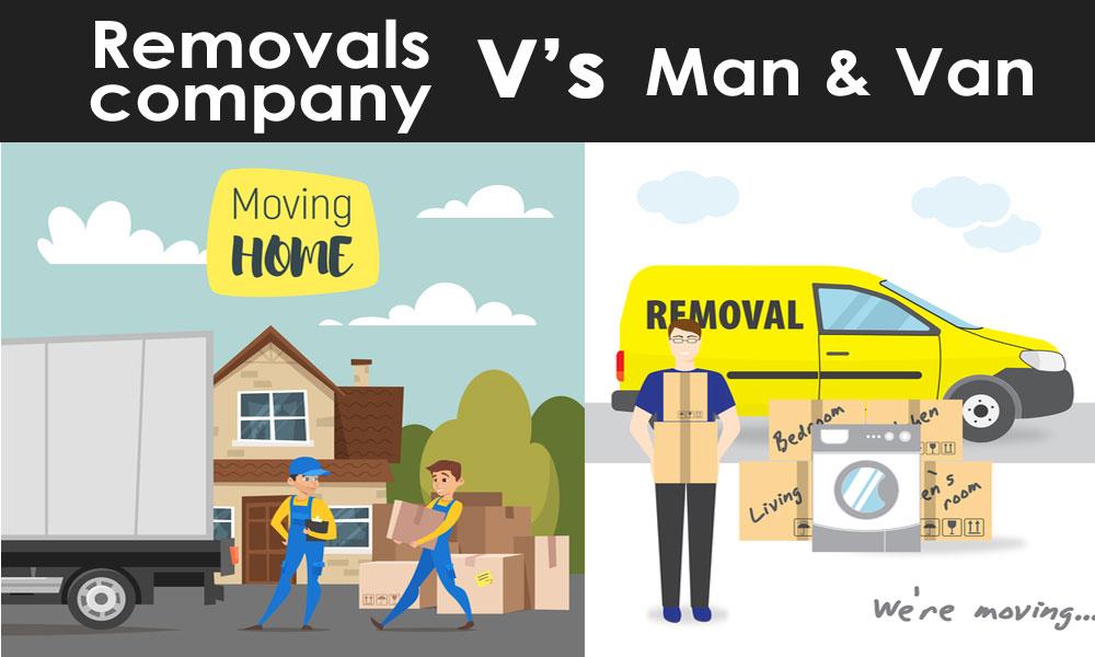Man-&-Van-v's-Removals-company